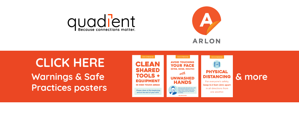 Safe Practise Posters from Arlon