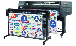 HP Latex 315 Print & Cut Solution