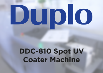 Duplo DDC-810 installed at SpotOn Finishing