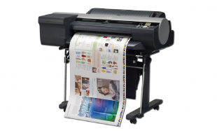 "Canon iPF6450, 24"" Large Format Printer"